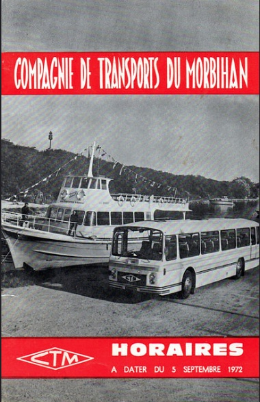 CTM 1972 timetable cover
