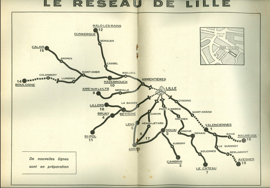 Lille map 1933
