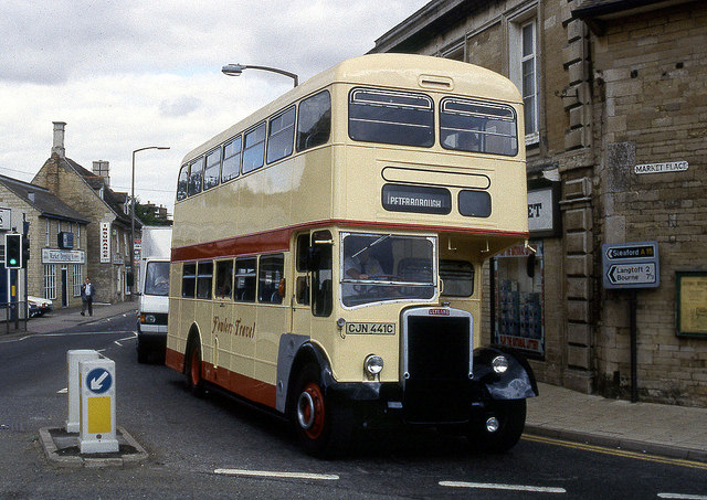 fowlers heritage double decker