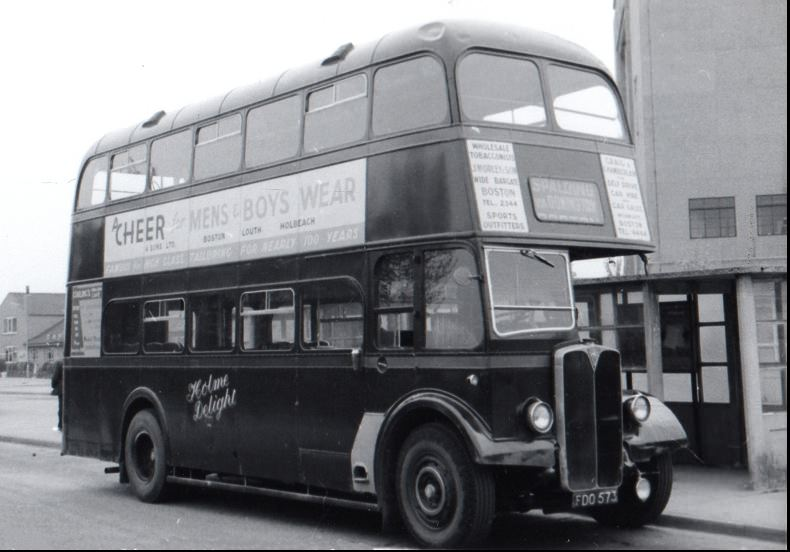 FDO573 at Spalding bus station