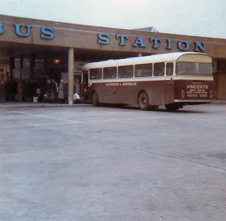 Yeovil bus station 1979
