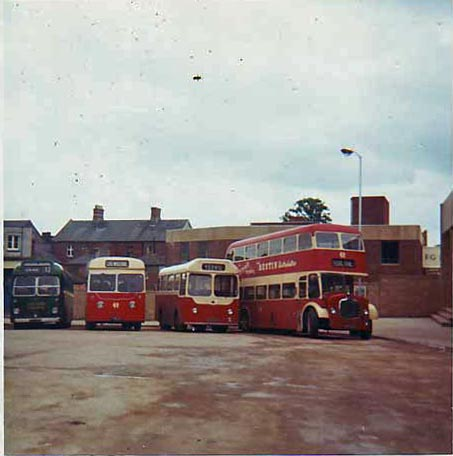 Yeovil bus station 1968