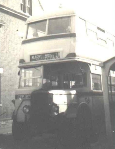 CVP 187 at Albert Road terminus