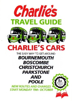 Charlies Cars booklet