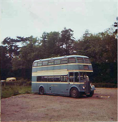 decker LYA449 at Sparkford after withdrawal